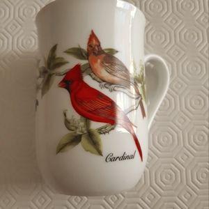 2/25$****Cardinal mug - John Audubon porcelains